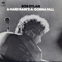 """A hard rain's a-gonna fall"" - Bob Dylan"