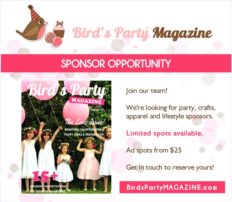 Party Ideas & Printables Magazine