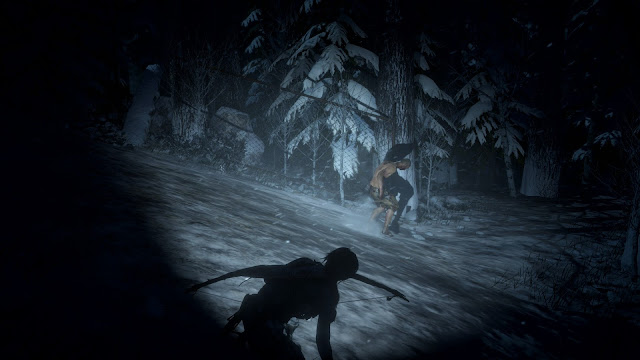 Review – Rise of the Tomb Raider, Cold Darkness Awakened infected torch