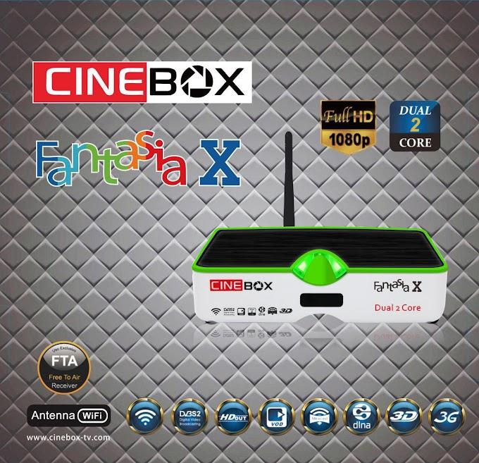 CINEBOX FANTASIA X NOVA ATUALIZAÇÃO 29/10/2018