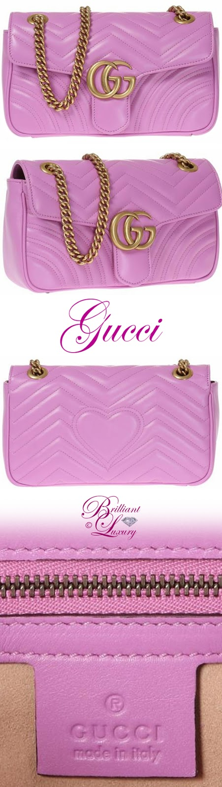 Brilliant Luxury ♦ Gucci GG Marmont Matelassé Shoulder Bag