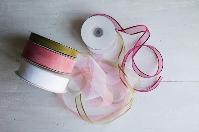 organza ribbons from Creative Bag