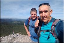 Armikelo mendiaren gailurra 888 m. - 2018ko abuztuaren 26an