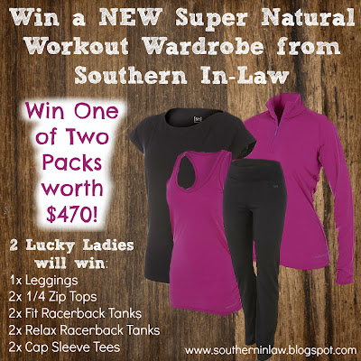 Win Workout Wear - Rebel Sport Super Natural Range