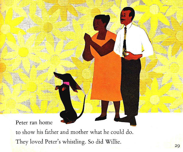 Ezra Jack Keats illustration 1960s large
