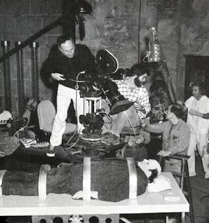 El jovencito Frankenstein detrás de las cámaras