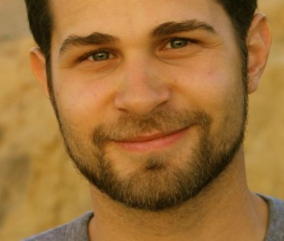El joven geólogo Andres Ruzo