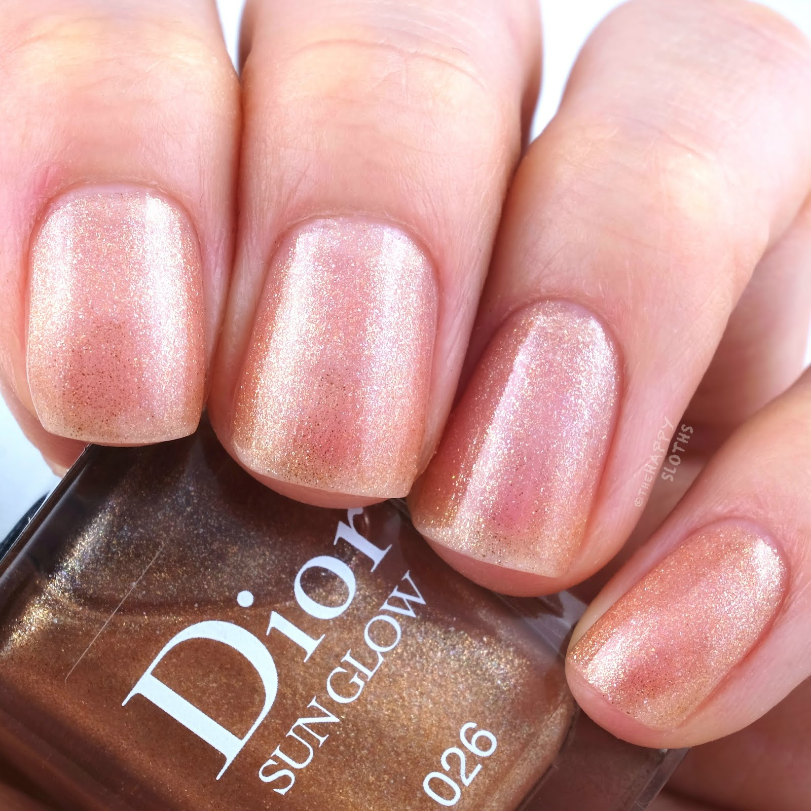Dior Summer 2019 Wild Earth Collection | Sun Glow Veil of Light Nail Protection and Radiance: Review and Swatches