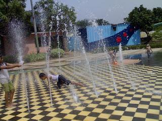Air Mancur Waterland Ujung Menteng Cakung