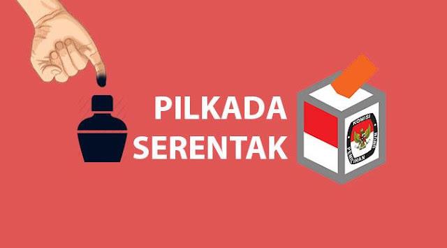 76 Kabupaten yang Melaksanakan Pilkada Serentak 2017
