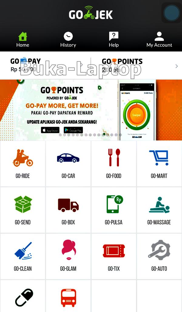 Image Result For Cara Order Gojek