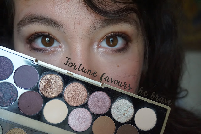 fortune-favours-the-brave-makeup-revolution-revue-avis-swatche-tutoriel