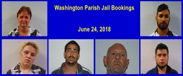 Mt  Hermon Web TV: Washington Parish Jail Bookings for June