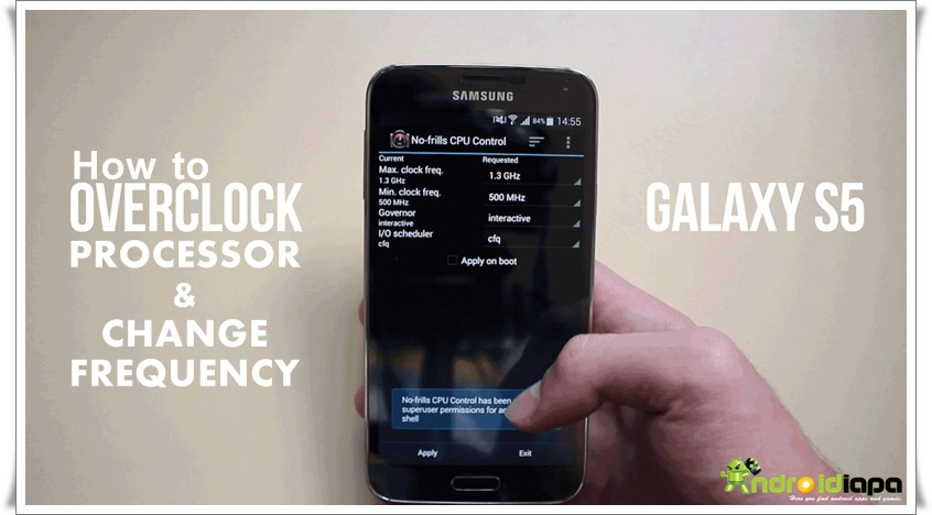 how to change wifi frequency android