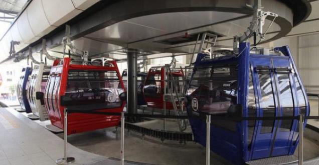 A partir del próximo lunes 1ro de abril se reanuda el servicio del  Teleférico de Santo Domingo, así lo informó la Oficina para el Reordenamiento del Transporte (OPRET).