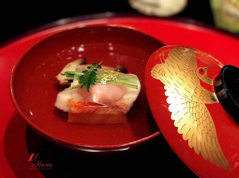 keio plaza japanese kaiseki experience appreciating lacquer tableware