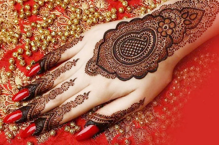 Mehndi For Thin Hands : Latest shaded mehndi designs lagao