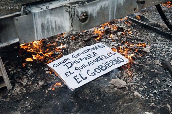 Gendarmería y la represión que impulsa el gobierno argentino 2017