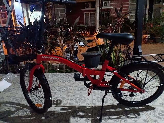 Sepeda United Stylo Cocok Untuk Anak Dan Dewasa