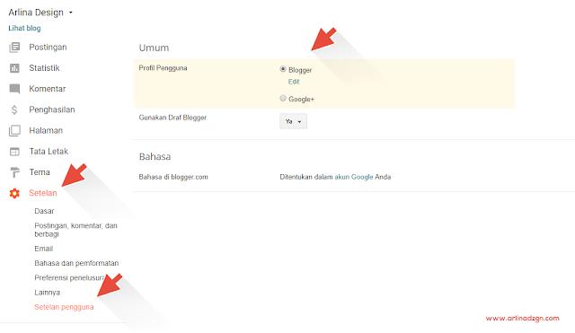 Mengalihkan Profil Google Plus ke Profil Blogger