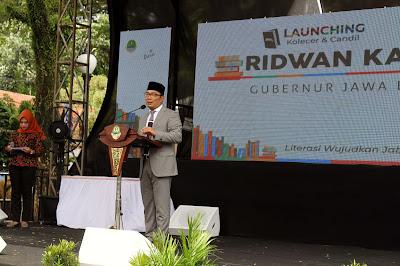 Bunda Literasi Kabupaten Kuningan, Hadiri Launching KOLECER dan CANDIL
