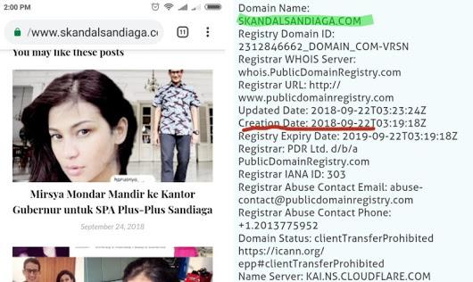 Kasus Situs Fitnah Sandi & Hoax Denny Siregar tak Ditangkap, Rezim Jokowi Bisa Dituding Pendukung Hoax