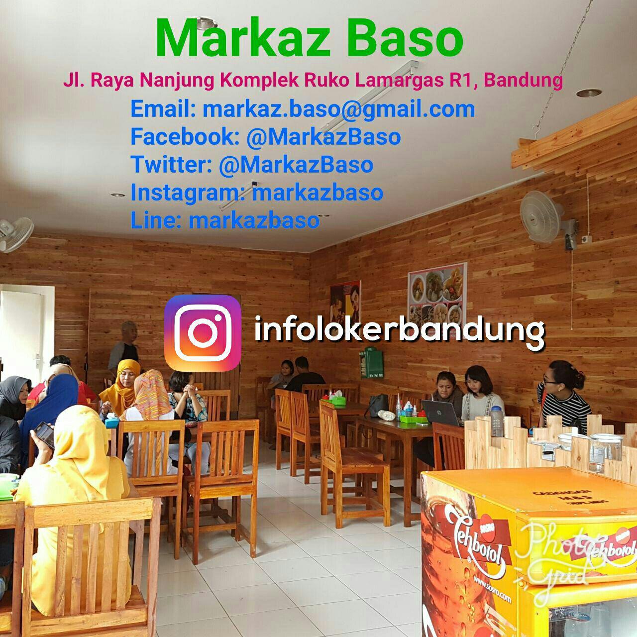 Lowongan Kerja Markaz Baso Bandung Juli 2017