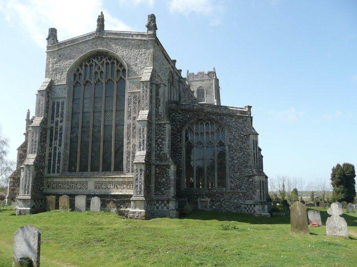 The Cathedral of the Marshes at Blythburgh