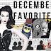 December '17 Favorites