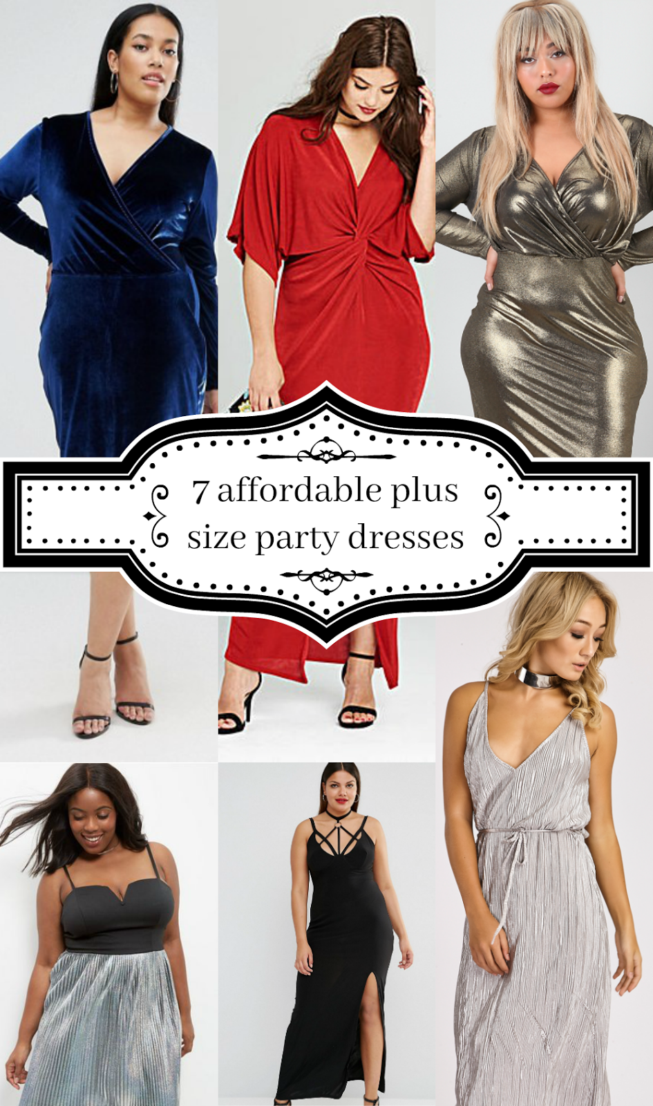 7-affordable-plus-size-party-dresses Christmas glam // www.xloveleahx.co.uk