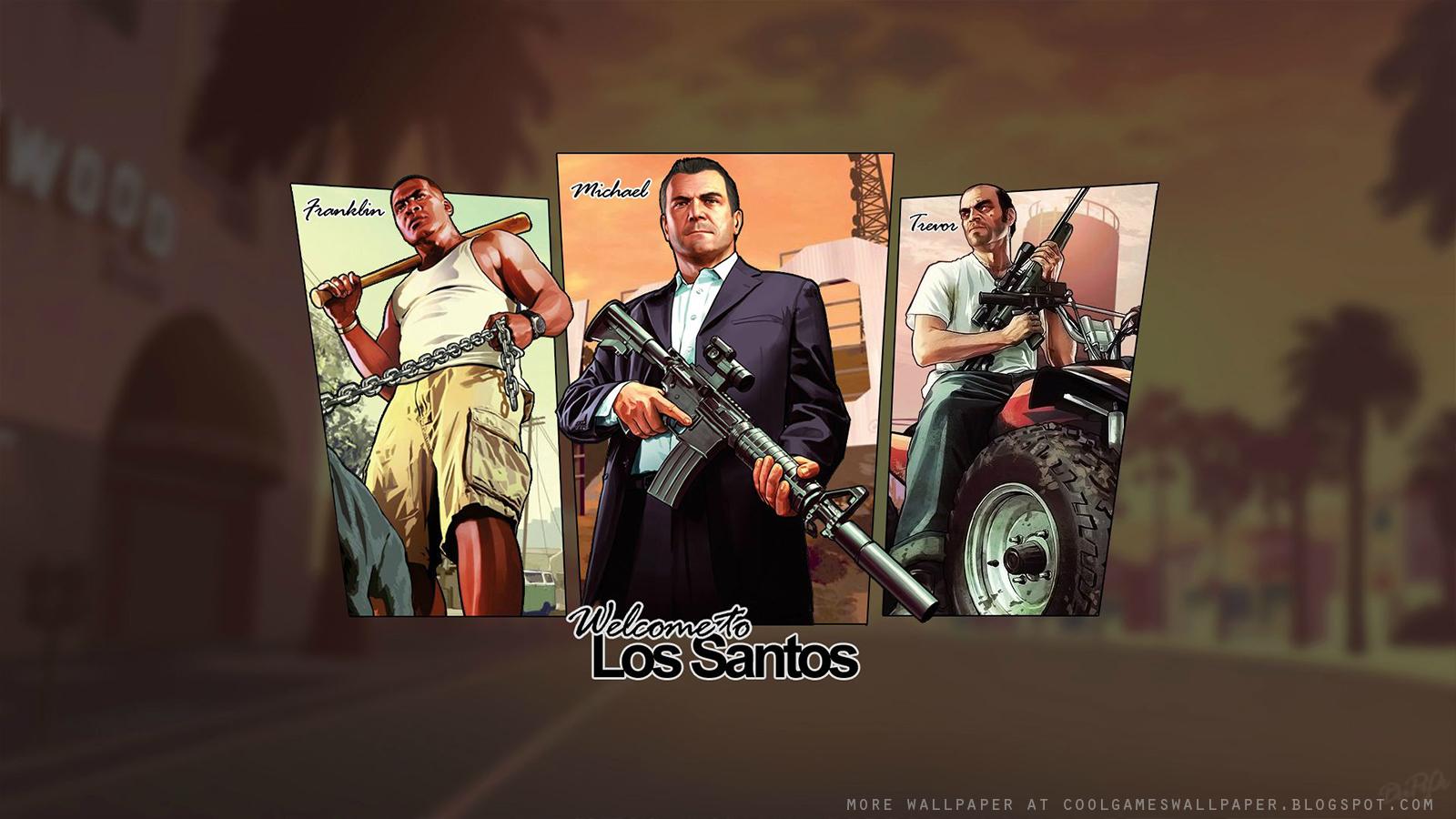GTA V Artwork Wallpape...