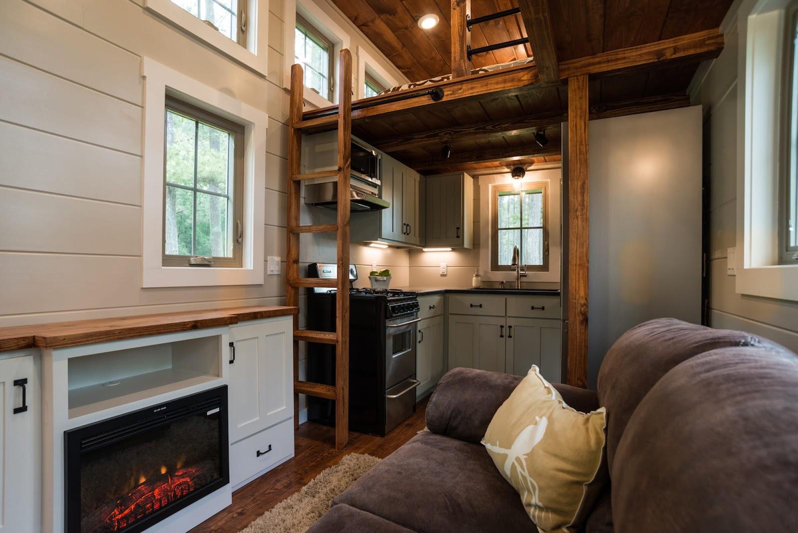 Harvard Designed Tiny Homes: TINY HOUSE TOWN: The Retreat From Timbercraft Tiny Homes