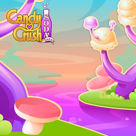 Candy Crush Soda Saga level 1241-1255