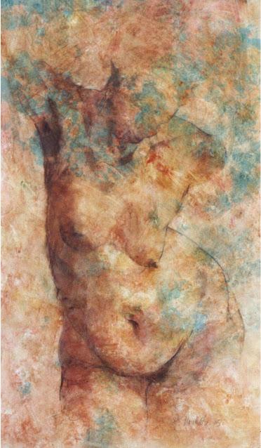 Torso - Painting - Rosemary Marchetta