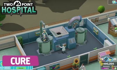 Two Point Hospital, Improve Productivity, Cash Flow Profit