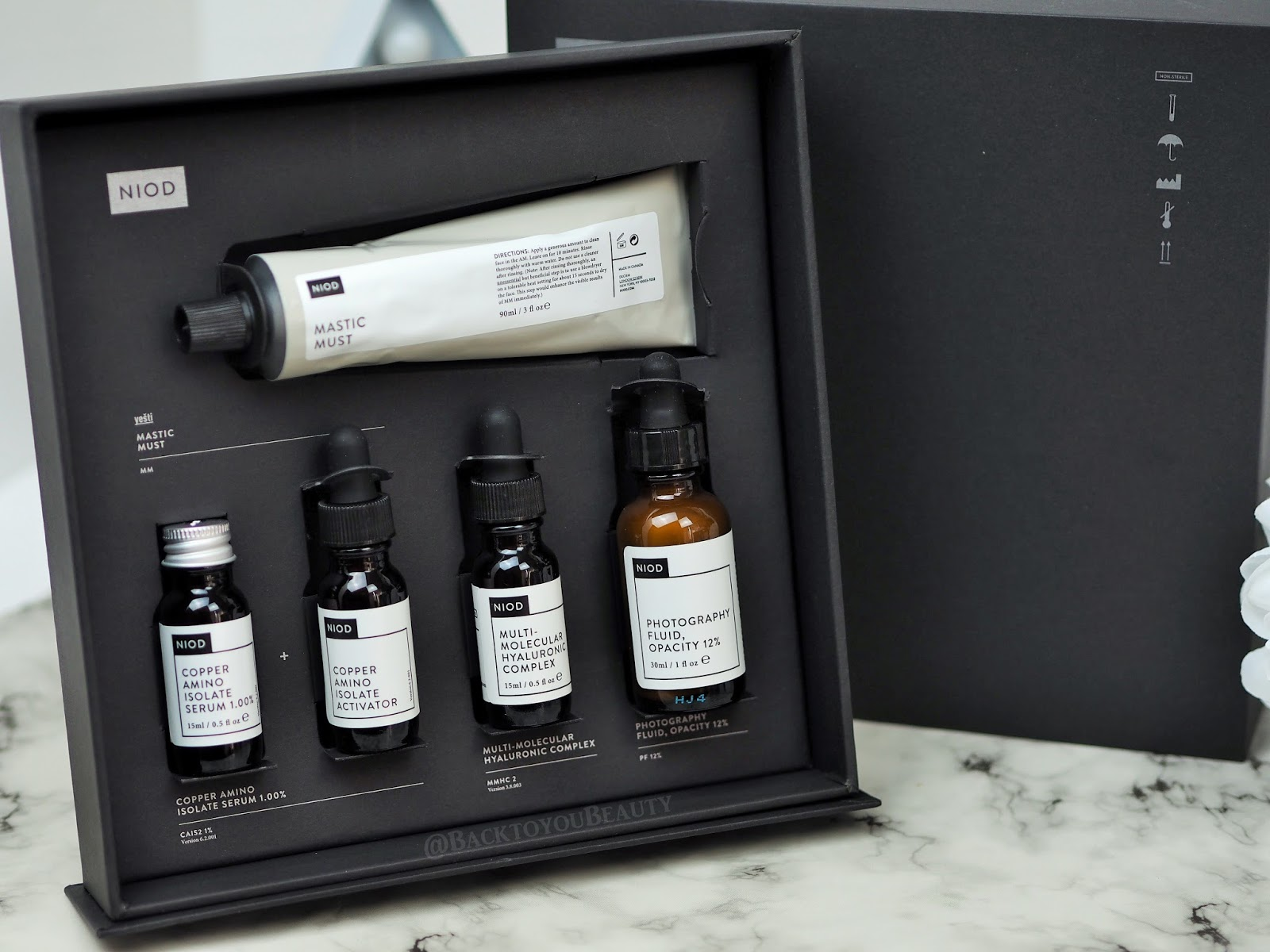 NIOD Dermal Science 4 Steps to Radiant Skin Collection - Qvc Tsv