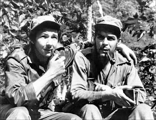 Raúl Castro with Che Guevara