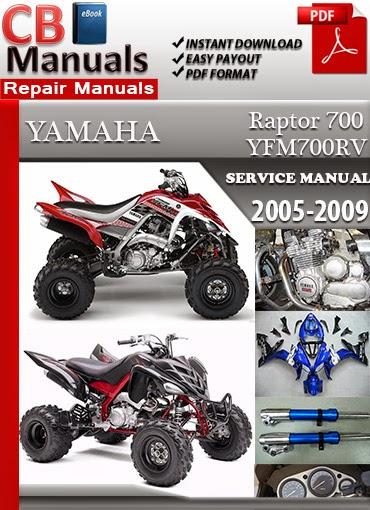 Yamaha Raptor 700 2005-2009 Technical Service Manual