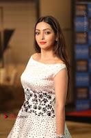 Actress Pooja Salvi Stills in White Dress at SIIMA Short Film Awards 2017 .COM 0121.JPG