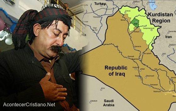 Un cristiano del Kurdistán iraquí