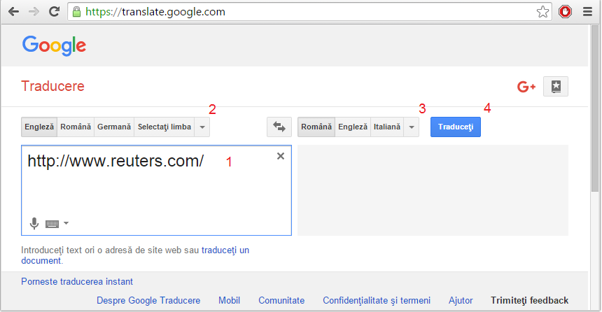 google translator roman olandez