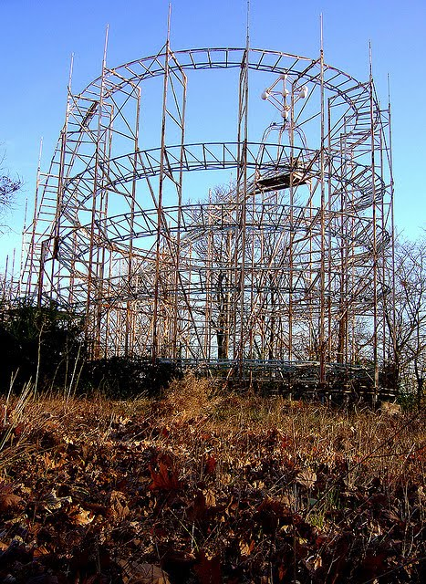 10 Most Amazing Abandoned Roller Coasters Crazy Pics