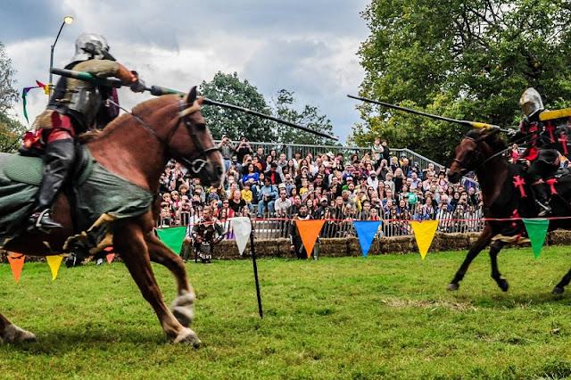 Festival medieval em Nova York