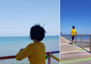 Dermaga Cinta Pantai Pasir Putih Situbondo