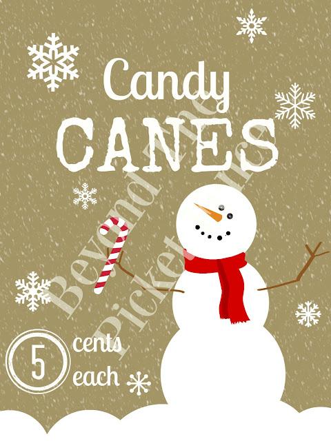 candy canes, free printable, snowman, Christmas, https://goo.gl/7NTkZ1