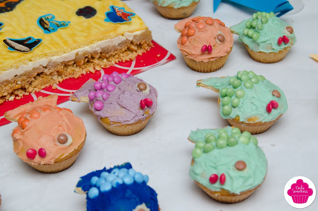 Cupcakes poissons - Fish cupcakes