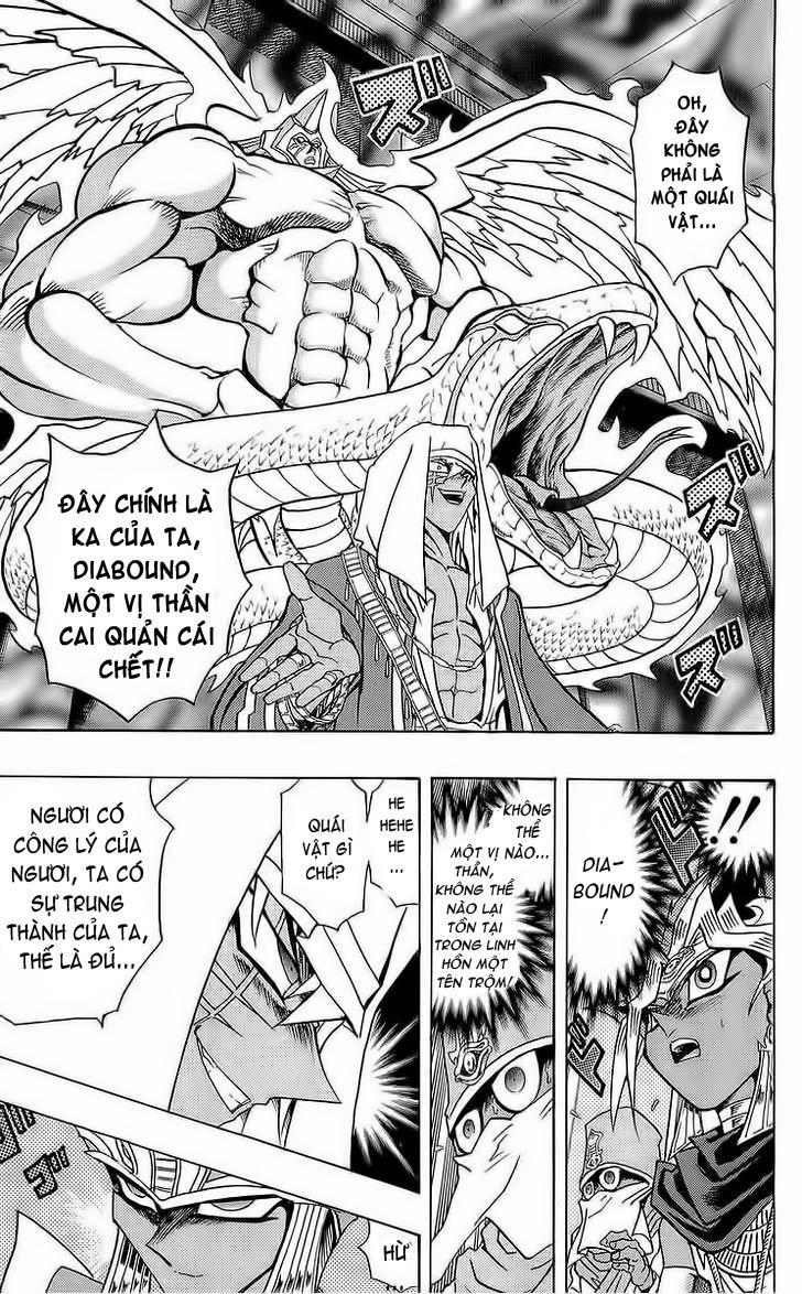YUGI-OH! chap 285 - bakura, vua trộm trang 16
