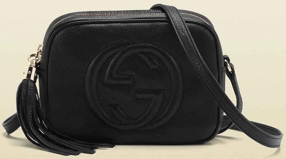 45817fe1a02e1 Preços da bolsa Soho Disco da Gucci no Brasil, Europa e EUA - Garotas  Modernas
