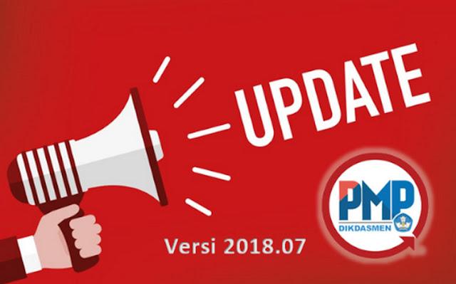 Link Resmi Unduhan Updater PMP versi 2018.07