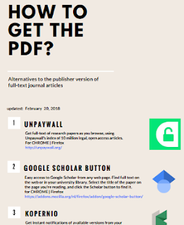 How to get the pdf?